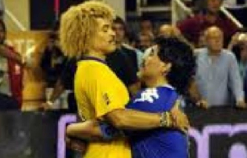El 'Pibe' Valderrama también recordó a Maradona, quien siempre lo respetó como 10 / Tomada de la cuenta de Instagram de Carlos Valderrama.
