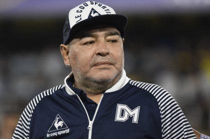 Diego Maradona, que según un periodista, estaba deprimido