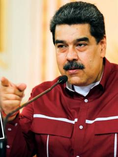 Régimen de Maduro ataca a Macron por carta a Maradona. Fotomontaje: Pulzo.