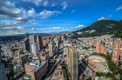 Vista aérea de Bogotá para ilustrar nota sobre barrios más caros de Colombia y Latinoamérica