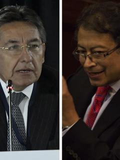 Montaje de Néstor Humberto Martínez a Santrich: pruebas de Petro