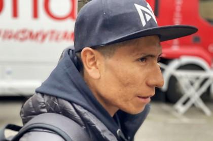 Director del Arkea habla de la continuidad de Nairo Quintana. Imagen de referencia del ciclista colombiano.