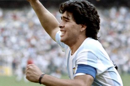 Partidos de Maradona en México 86 se podrán ver por Caracol TV. Imagen de referencia del argentino.