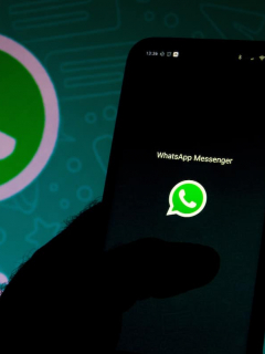 Logotipo de WhatsApp para ilustrar nota sobre capturas de pantalla a conversaciones completas