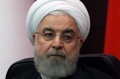 """Hassan Rohani acusó a Israel de querer sembrar el """"caos""""."""