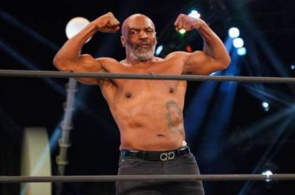 Mike Tyson vuelve a pelear contra Jones Jr.
