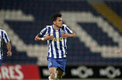Golazo de Chilena de Luis Díaz en el partido de Porto contra Santa Clara hoy.