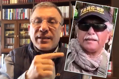 Según Roy Barreras, defiende al acuerdo de paz, no a 'Santrich'. Fotomontaje: Pulzo.