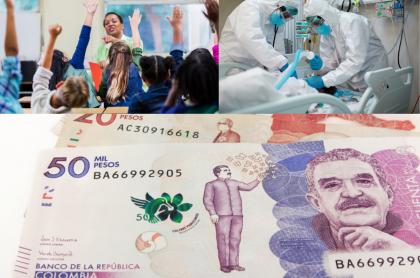 El presidente Iván Duque ya aprobó el Presupuesto General de 2021. (Fotomontaje Pulzo).