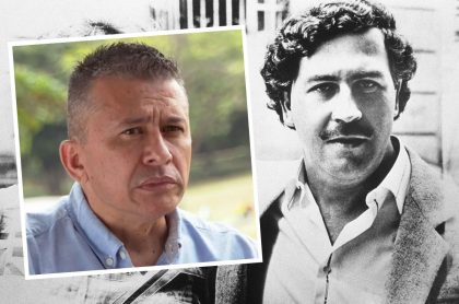 Ómar Carmona, tanatólogo que preparó el cadáver de Pablo Escobar, dice que el narcotraficante no se suicidó / Pablo Escobar en foto de 1983.