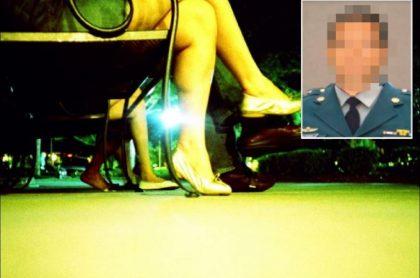 Imagen del excoronel al que la Fiscalía acusa de presuntamente abusar y explotar a una menor de edad