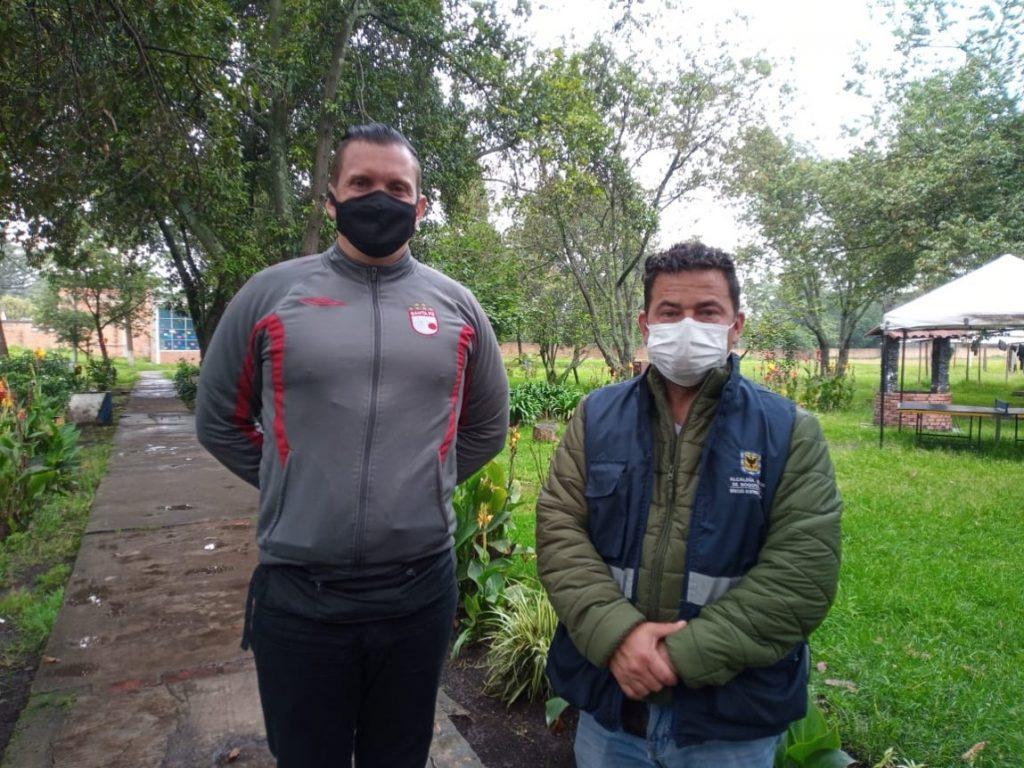 Ómar Guerra y Ortiz Guillin. Foto: Melissa Moreno