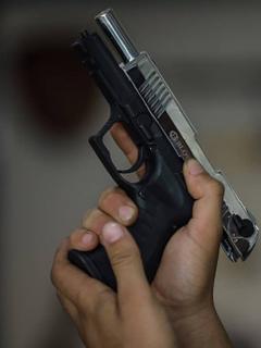 Hombre armado (imagen de referencia).