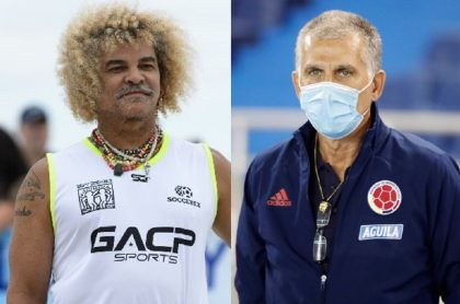 el 'Pibe' Valderrama y Carlos Queiroz (fotomontaje Pulzo).