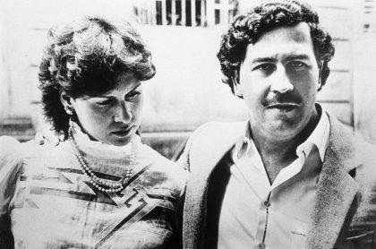 Pablo Escobar con su esposa Victoria Eugenia Henao en 1983, a propósito de nota de cómo luce hoy la viuda del narcotraficante.