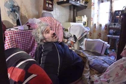 Alain Panabière, el francés de 300 kilos que fue evacuado de su casa por medio de una grúa