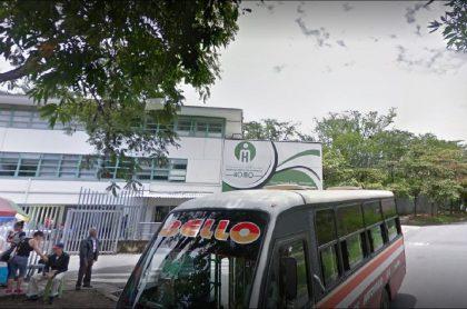 Hospital mental de Antioquia (Homo), en donde 28 menores se fugaron luego de un amotinamiento, según la Personería de Bello