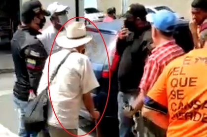 Anciano detenido por el régimen de Maduro.