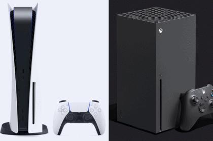 PS5 y Xbox Series X para ilustrar nota sobre diferencias entre las consolas y cuál es mejor