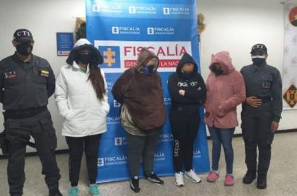 Madre, hija, sobrina y nuera, capturadas por presunto tráfico de drogas en peluches