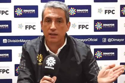 """""""Lo importante es que los árbitros fallen para todos"""": Dimayor. Imagen de Fernando Jaramillo, presidente de Dimayor."""