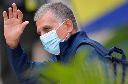 Mensaje de despedida de Carlos Queiroz de la Selección Colombia. Imagen de referencia del entrenador portugués.