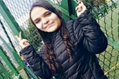 Imagen de Mariana Duran Castro, de 14 años, desaparecida hace un mes, en Bogotá-