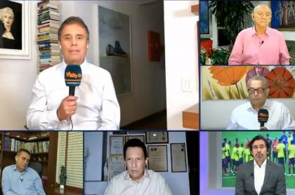 César Augusto Londoño, Óscar Rentería, Diego Rueda, Wbeimar Muñoz, Sergio Galván Rey y Hugo Illera dieron sus candidatos.