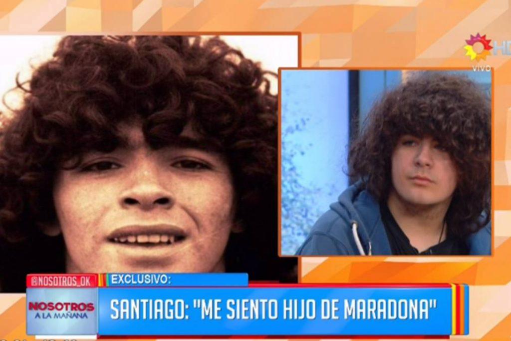Así lucía Santiago a los 16 años. FOTO: AS.