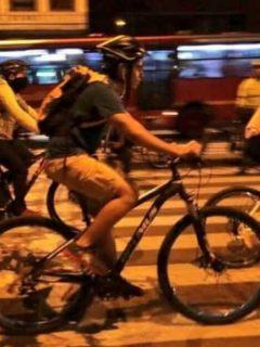 Hora y día de la ciclovía nocturna en Bogotá 2020.
