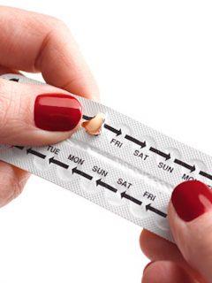 Píldora anticonceptiva.