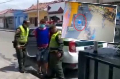 Hombre capturado como presunto responsable del asesinato de un hombre en Palmira
