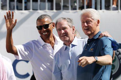 Obama, Bush y Clinton se vacunarían en TV contra coronavirus