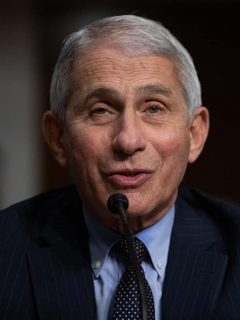 Anthony Fauci, director del National Institute of Allergy and Infectious Diseases