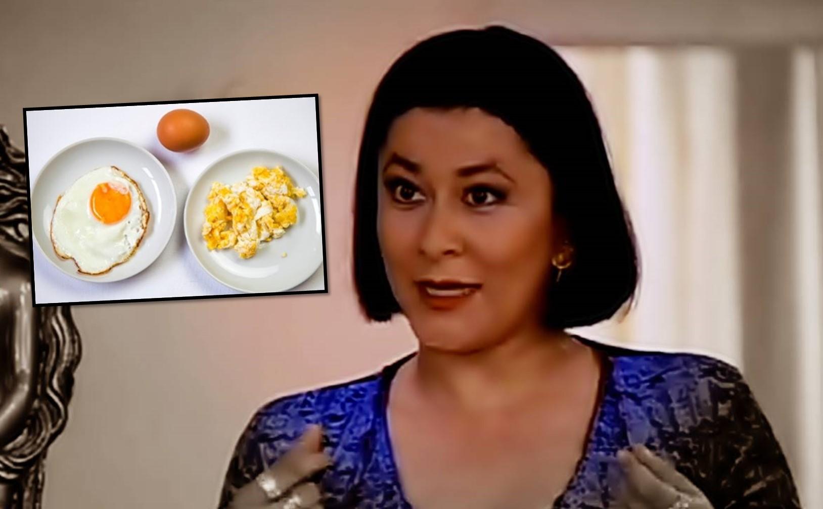 Alina Lozano, actriz de Pedro el escamoso, se queja por desayuno en El Dorado.