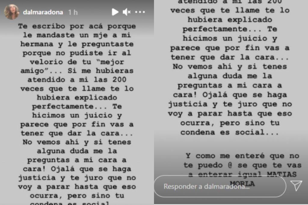 Tomada de Instagram @dalmaradona