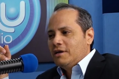 Hugo Mario Palomar, periodista de Blu radio internado por COVID-19
