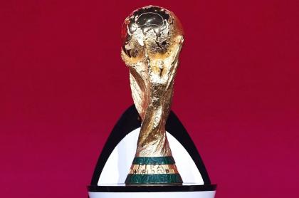 Grupos definidos en la Eliminatoria europea para Catar 2022. Imagen de referencia de la Copa del Mundo.