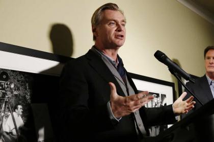 Christopher Nolan, director de la más reciente trilogía de Batman y de películas como 'Interestelar' y 'Tenet'.
