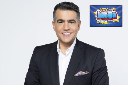 Carlos Calero, presentador de 'Voy por ti, juega por mí' de Caracol y quien le explicó a Pulzo cómo jugar y los premios de ese concurso a favor de la niñez y damnificados por la ola invernal.