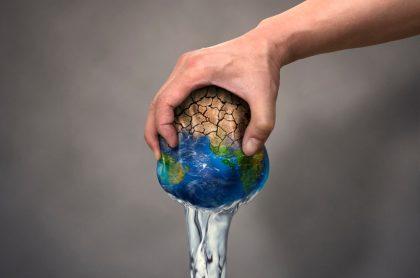 Escasez de agua en la Tierra.