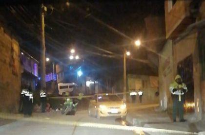 Asesinato de taxista en Ciudad Bolívar, sur de Bogotá