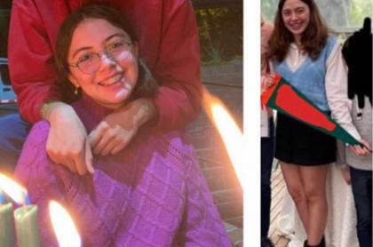 Imágenes de Verónica Arango, joven desaparecida en Bogotá.