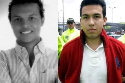 Luis Andrés Colmenares y Carlos Cárdenas, joven al que acusaron por la muerte y que hoy espera una indemnización luego de ser declarado inocente