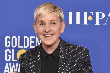 Foto de Ellen DeGeneres, quien dio positivo para COVID-19