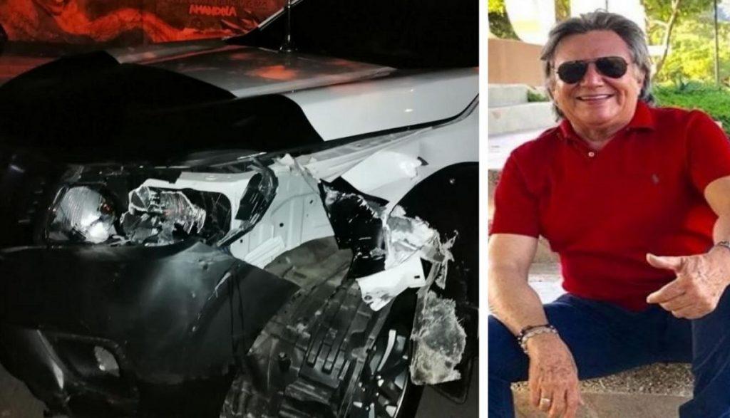 El Heraldo / Camioneta accidentada y William Dangond