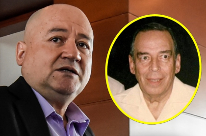 Carlos Antonio Lozada, que habló en la JEP sobre el magnicidio de Álvaro Gómez Hurtado, y el abogado asesinado