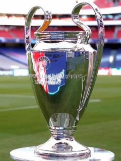 Champions, tenis, NBA y más deportes irían por TV prémium. Imagen de referencia del trofeo de la Champions League..