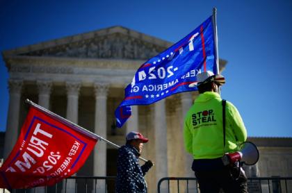 La Corte Suprema sigue sin concederle nada a Donald Trump, que se ve cada vez más lejos de la Casa Blanca.