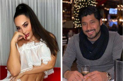 Andrea Valdiri negó seguir siendo novia de Lowe León y le reclamó por su entrevista en 'La red'.